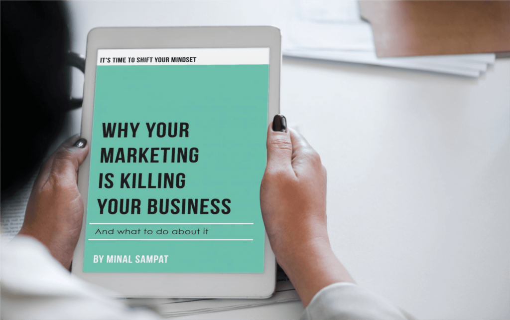 Why Your Marketing is Killing Your Business Tablet